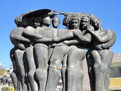 Esculturas - Ciudad de San Gabriel.