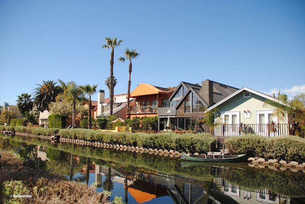 Venice Canals, Los Angeles, Kalifornia, USA