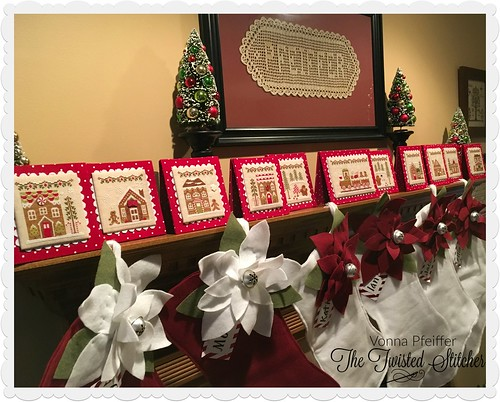 2017 Mantle_Country Cottage Needleworks Gingerbread Village