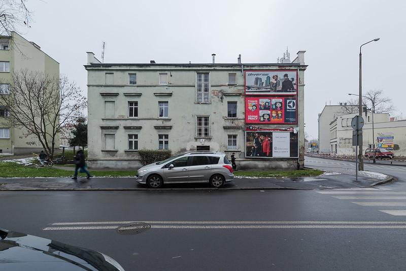 Oława, ul. Św. Rocha/Poland 20.12.2017