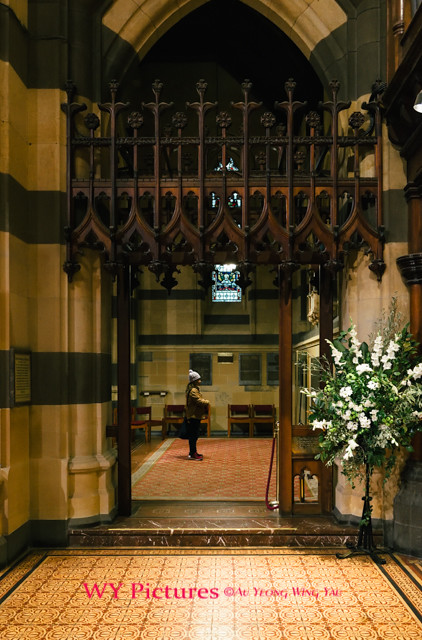 Melbourne 2017: The Visitor In Saint Paul's Cathedral