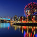 Blue hour at Science world