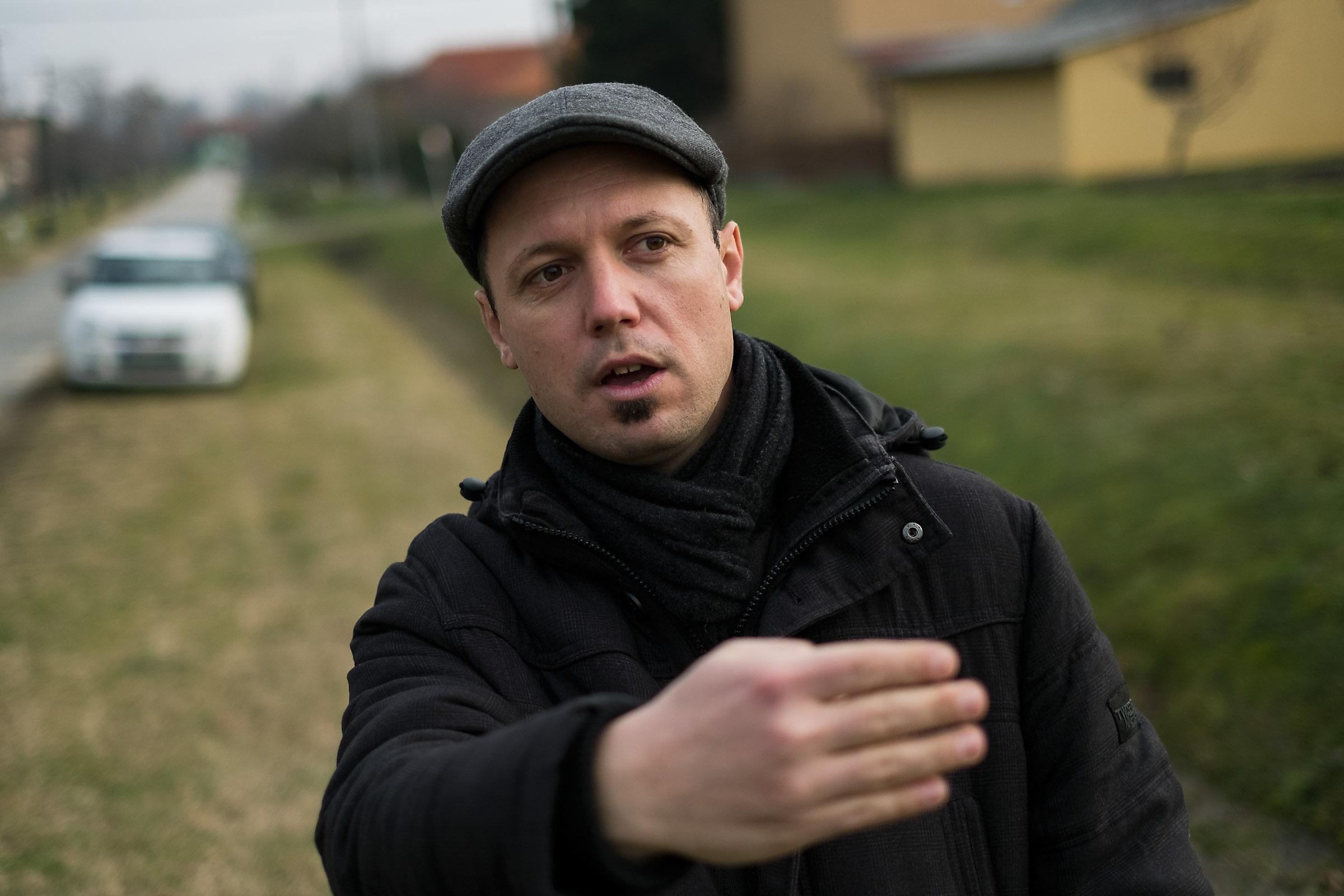 Molnár Balázs, Kéthely polgármestere | Fotó: Magócsi Márton