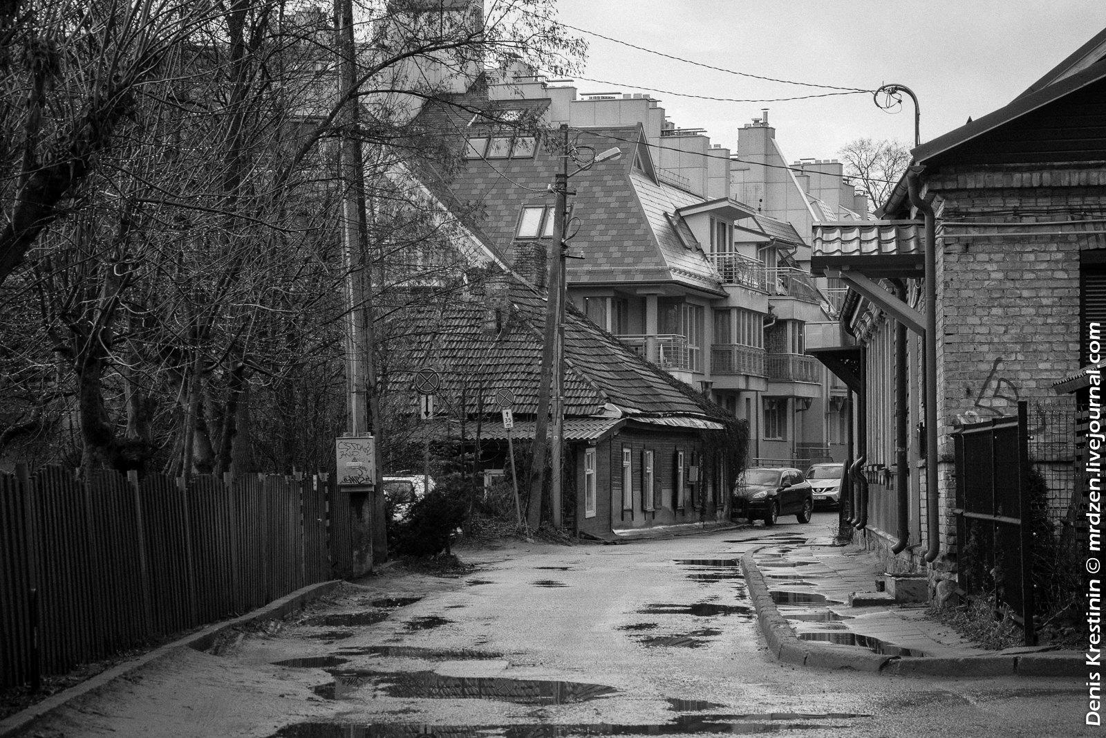 Вильнюс. Район Ужупис (Заречье).