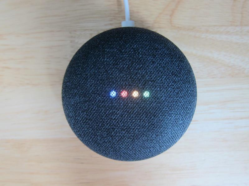 Google Home Mini - Plugged-In