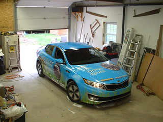 Car wrap example, free use
