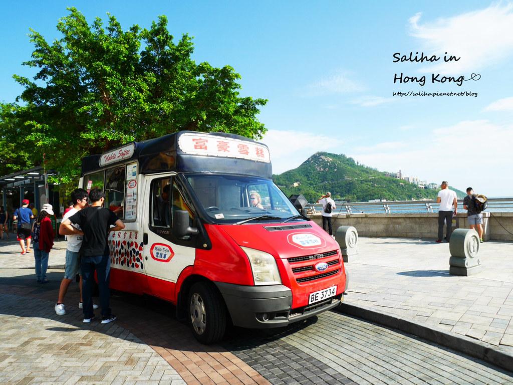 香港赤柱富豪雪糕車
