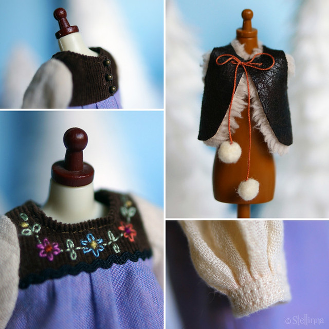 Forest Folklore dress set