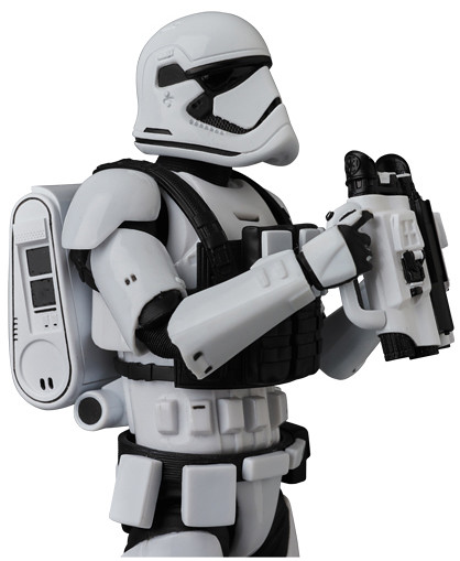 超豪華的武器配件陣容!!MAFEX《STAR WARS:最後的絕地武士》第一軍團風暴兵 First Order Stormtrooper(THE LAST JEDI Ver.)【日本地區限定發行】