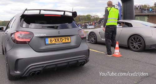 Can The Mercedes-AMG A45 Brabus Outrun A Nissan GT-R, Audi R8?
