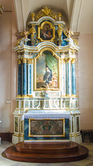Autel de Sainte-Odile de l'Abbaye d'Ebersmunster