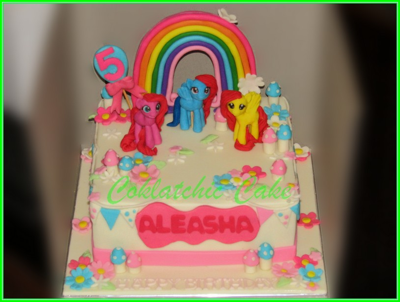 Cake My Little Pony ALEASHA 20cm