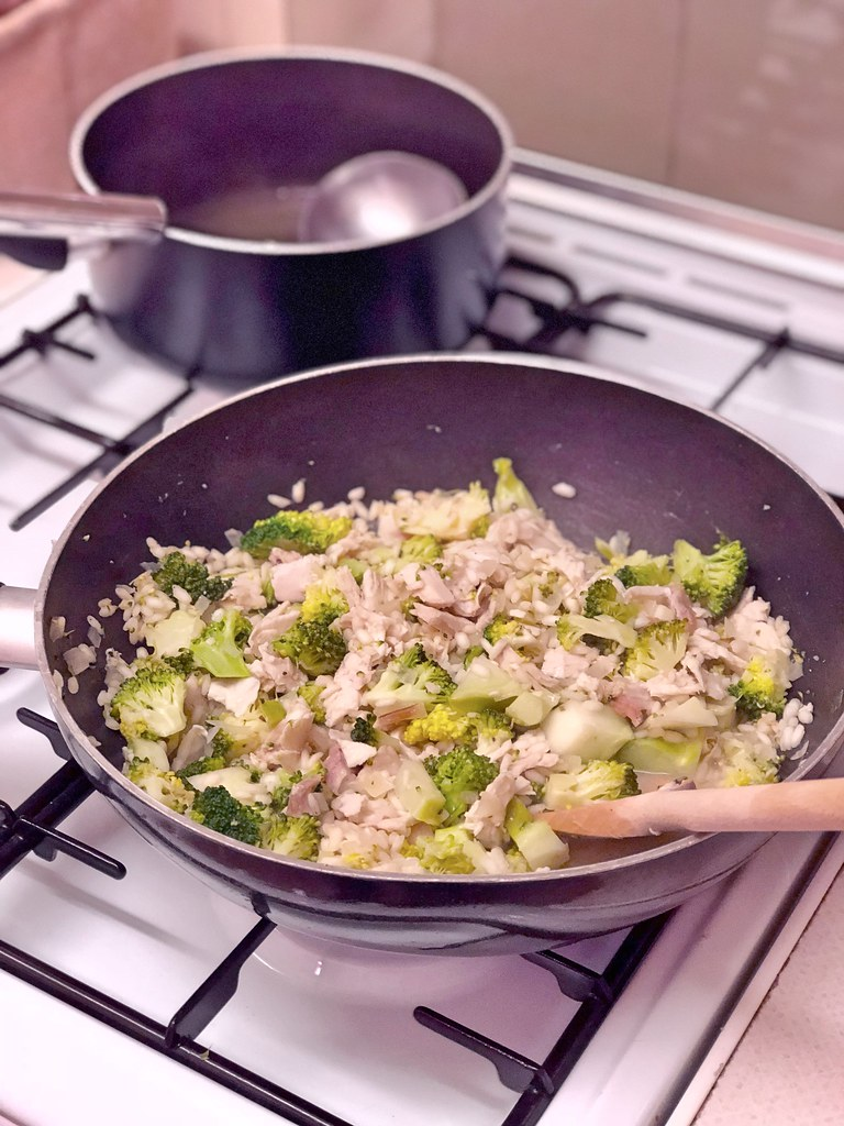TurkeyAndBroccoliRisotto