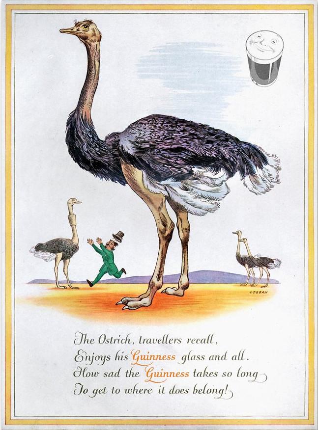Guinness-1952-ostrich