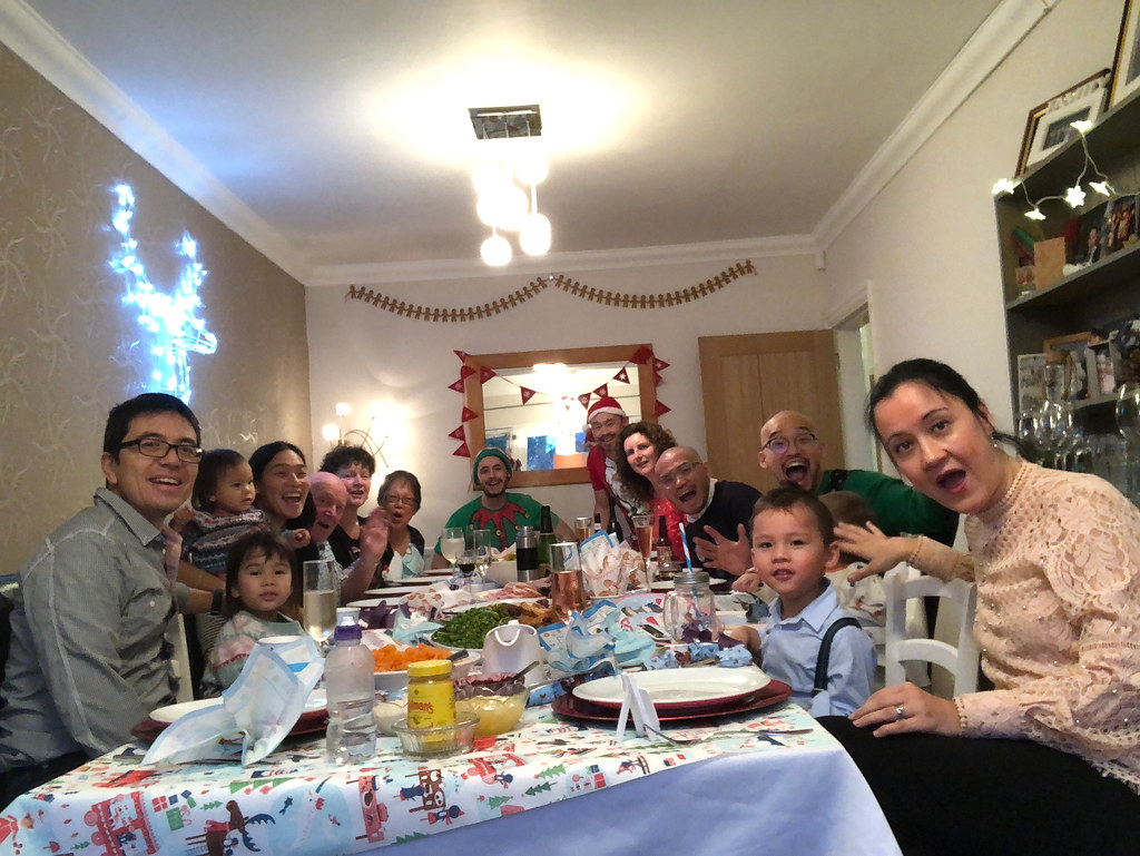 Christmas lunch with the entire Tong clan