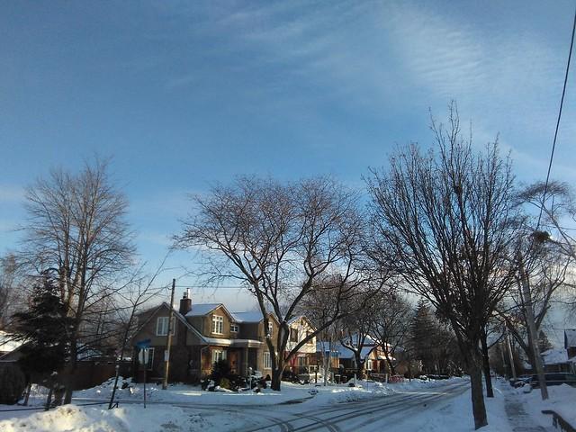 New Year's Day, Long Branch #toronto #longbranch #newyearsday #winter #twentyfifthstreet #white #snow