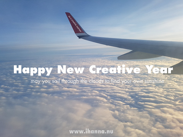 Happy New Creative Year 2018