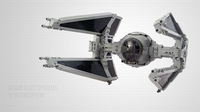 LEGO Star Wars TIE Interceptor
