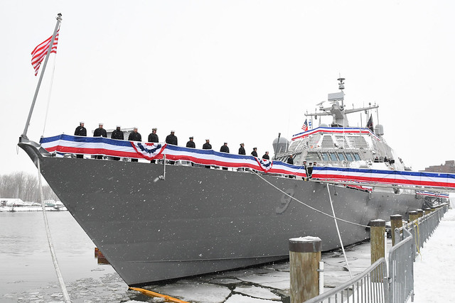 USS Little Rock (LCS 9) Commissioning