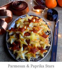 Parmesan & Paprika Cocktail Stars