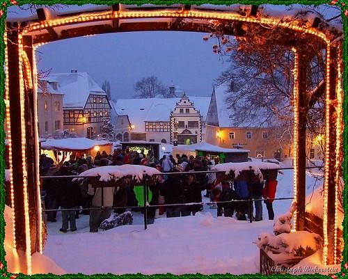 Lauensteiner Weihnachtsmarkt - 3. Advent 2010