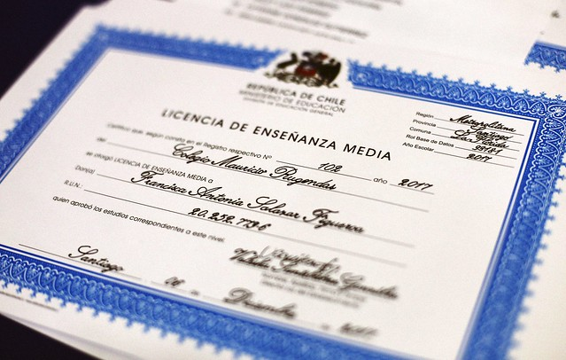 Licenciatura 4º Año Medio 2017