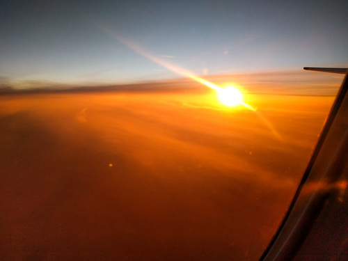 Sun Rising Over Europe