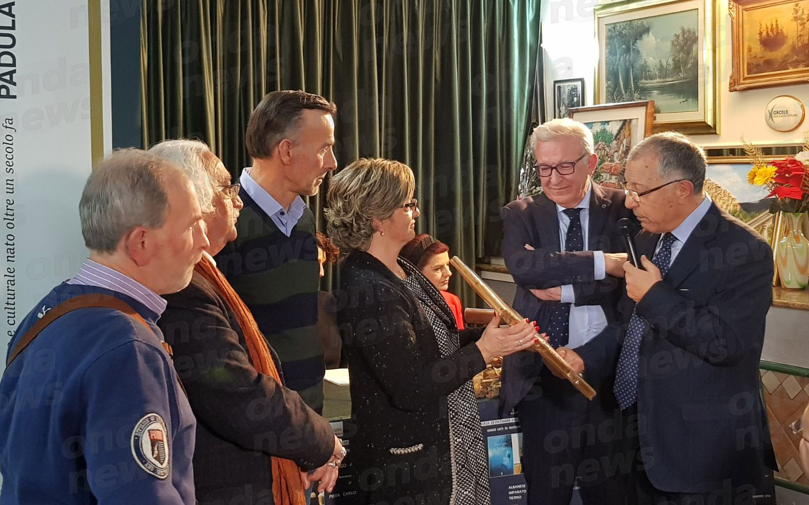 Premiazione Michele Albanese Padula 28-12-17