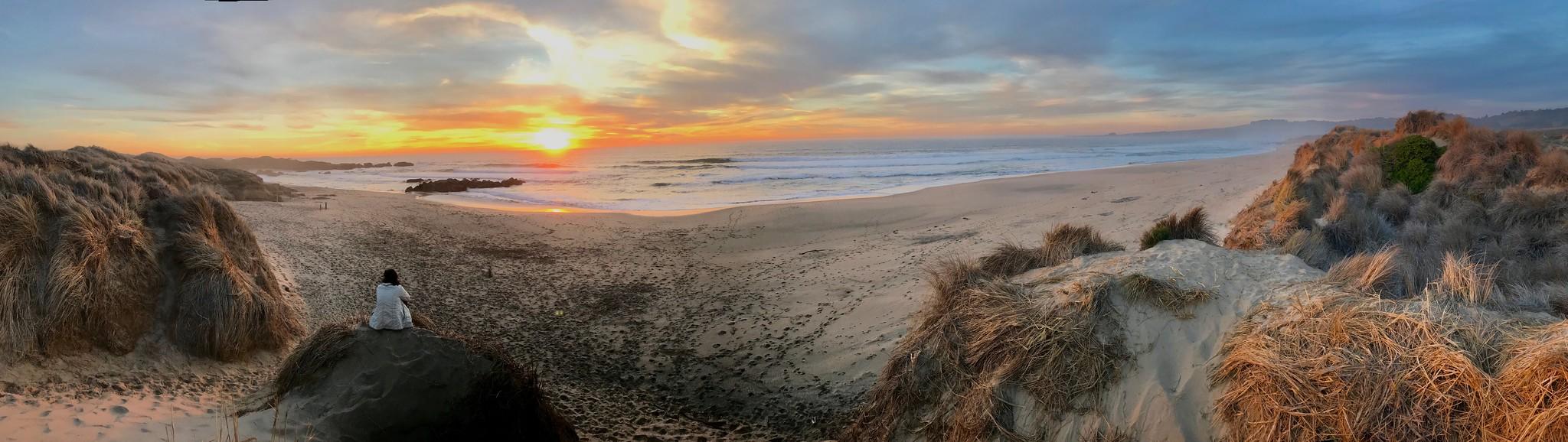 Costanoa Sunset Beach Hike
