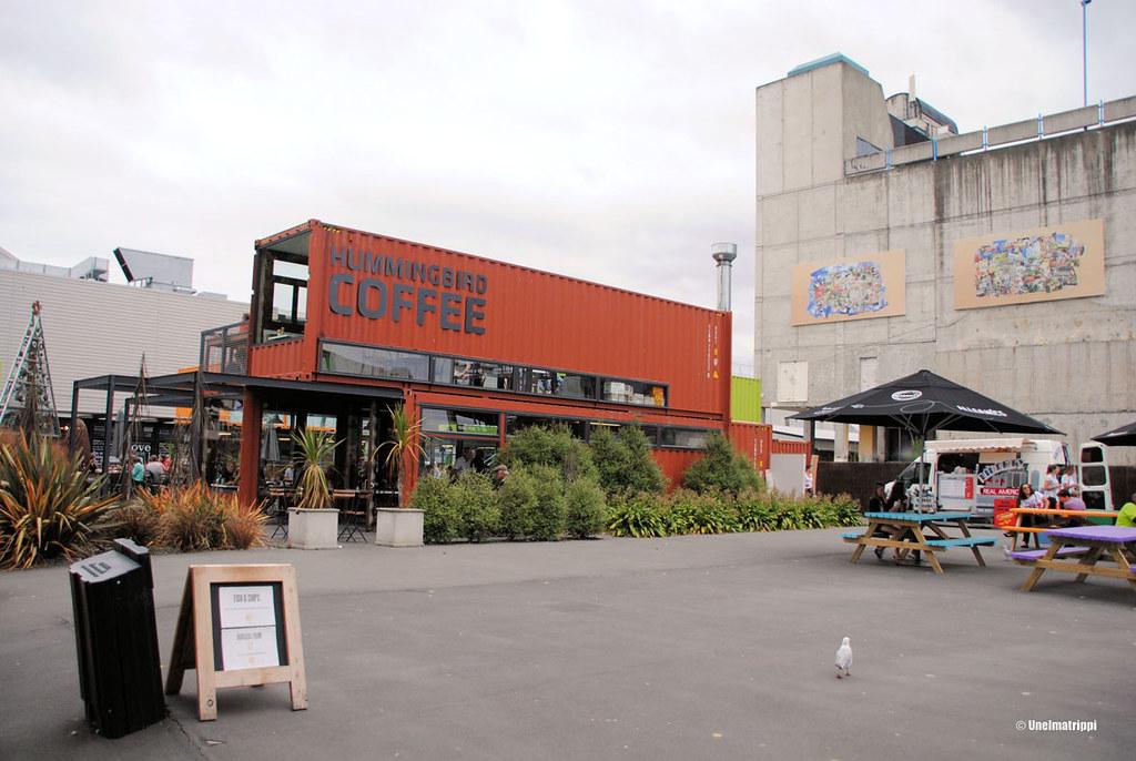 Re:start-ostarilla Christchurchissa, Uusi-Seelanti