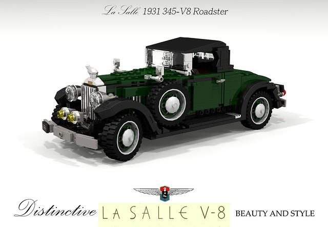 LaSalle 1931 345-V8 Roadster