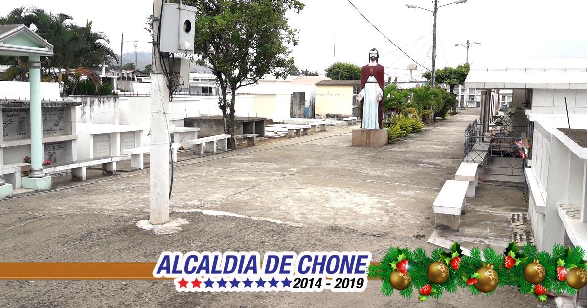 447 actualizaciones registradas en los cementerios de Chone