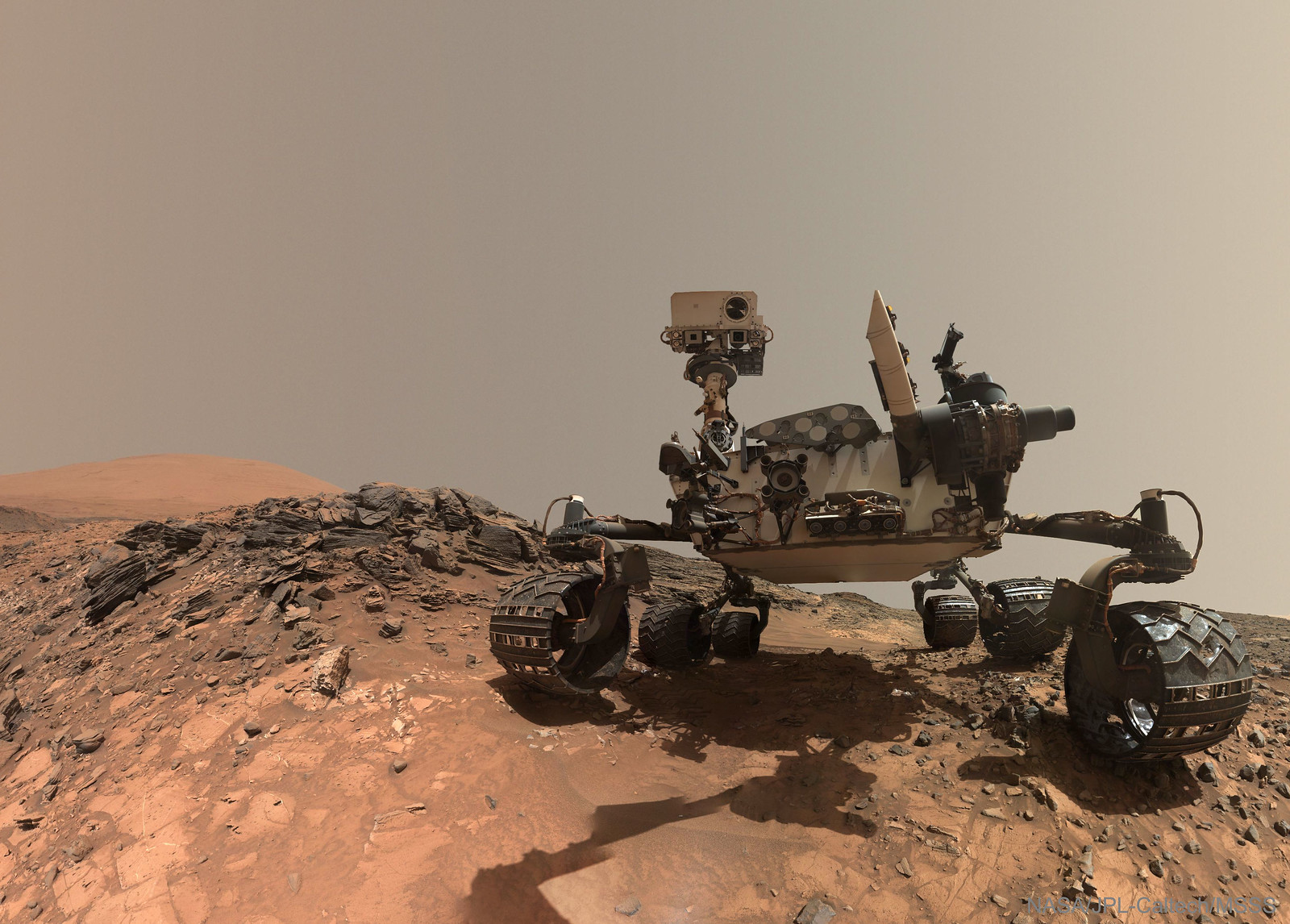 Curiosity Rover Takes Selfie on Mars