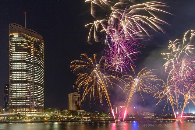 Southbank Fireworks 4