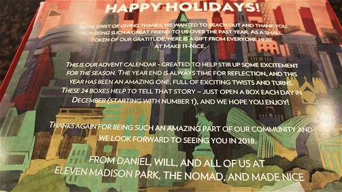 EMP/NoMad/Made Nice Holiday Gift 2017