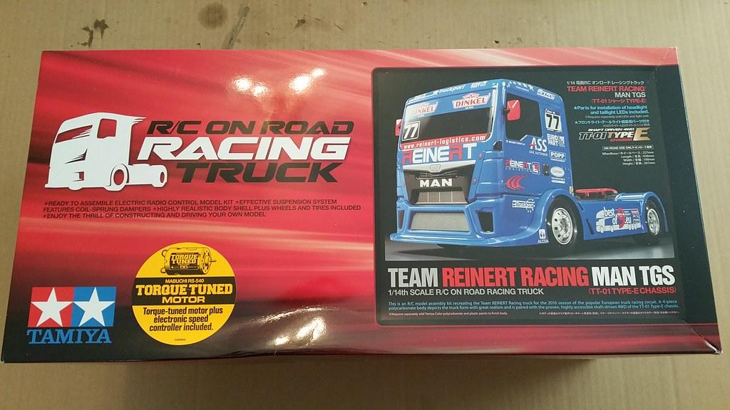 Tamiya TT-01E MAN TGS European Racing Semi Truck - RCCrawler