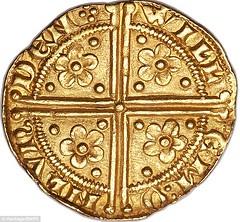 Henry III gold penny reverse