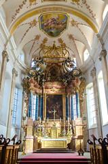 Le maître-autel de l'Abbaye d'Ebersmunster