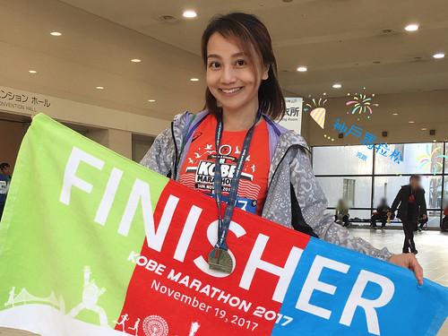 【神戶馬拉松2017】我的第二個全馬獎牌, 2017神戶馬心得記錄