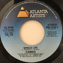 CAMEO:SINGLE LIFE(LABEL SIDE-A)