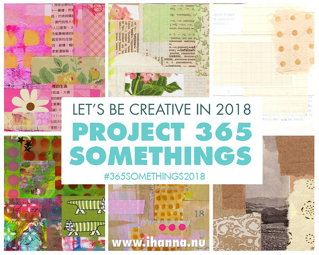 365 somethings in 2018 with iHanna - feel free to join us any time! #365somethings2018 #creativity