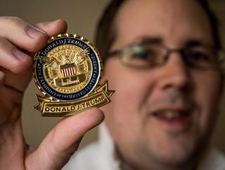 Trump challenge coin