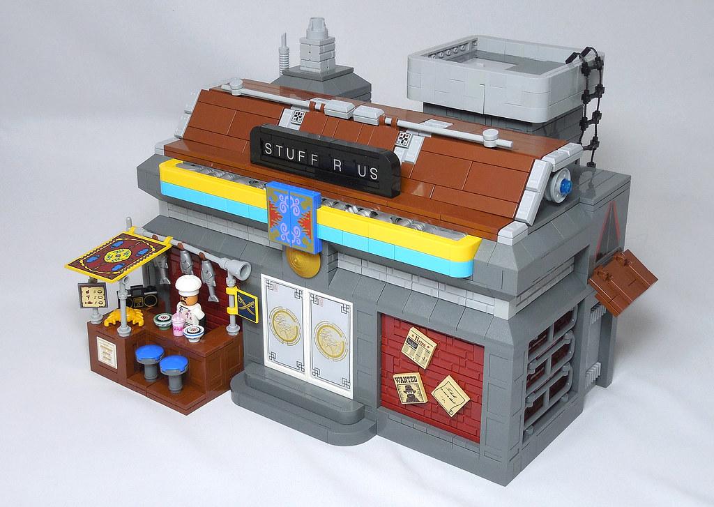 LEGO® MOC by Vitreolum: Cyberpunk #3 – Stuff R Us