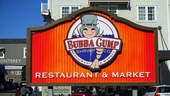 The first Bubba Gump Shrimp Co. Restaurant & Market in Monterey, California.