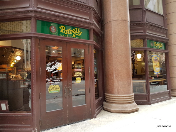 Potbelly Chicago storefront