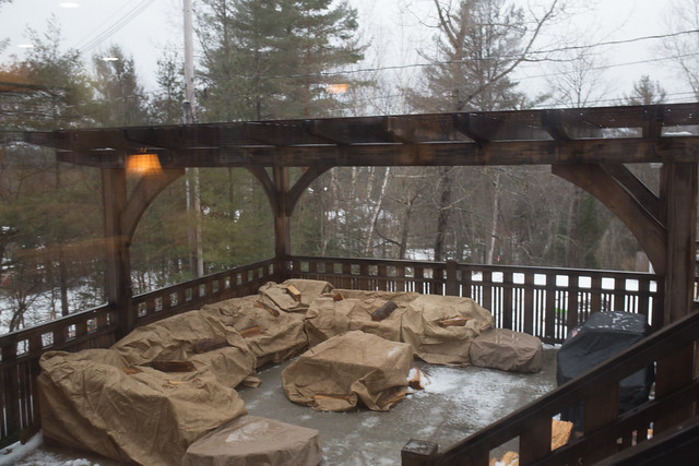 Marcy has exclusive use of the outdoor Pergola for entertaining with fire pit and gas grill.
