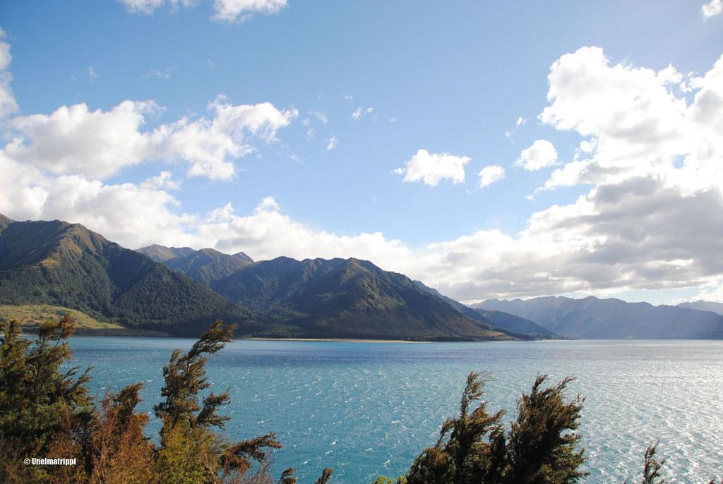 Matkalla Wanakasta Fox Glacierille, Uusi-Seelanti