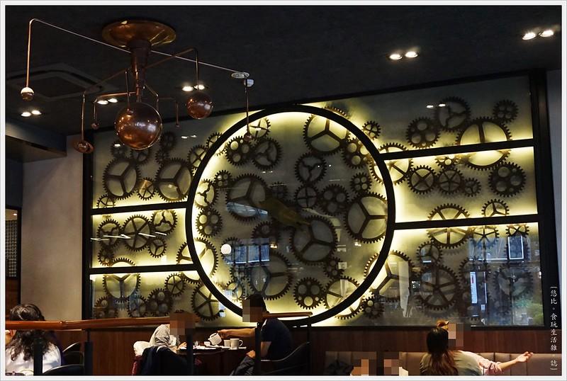 卡啡那CAFFAINA 大墩店-10-齒輪牆