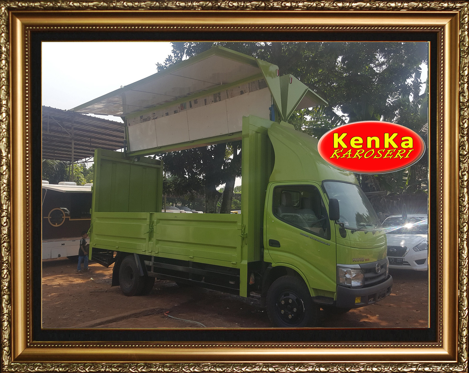 Karoseri  Truck Wingbox - 4