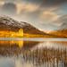 Kilchurn Castle in Golden Morning Light by RichRobson